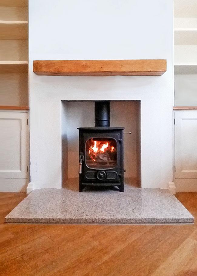 Making Fireplace Inglenook Home Fires Jersej Ltd
